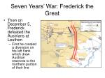 seven years war frederick the great13