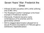 seven years war frederick the great16