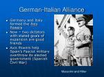german italian alliance