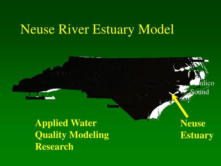 Neuse river estuary model