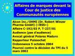 affaires de marques devant la cour de justice des communaut s europ ennes103