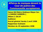 affaires de marques devant la cour de justice des communaut s europ ennes136