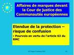 affaires de marques devant la cour de justice des communaut s europ ennes142