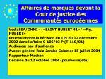 affaires de marques devant la cour de justice des communaut s europ ennes145