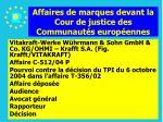 affaires de marques devant la cour de justice des communaut s europ ennes154