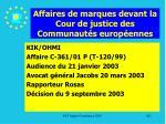 affaires de marques devant la cour de justice des communaut s europ ennes202