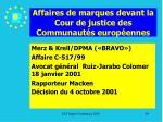 affaires de marques devant la cour de justice des communaut s europ ennes80