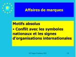affaires de marques121