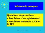 affaires de marques198