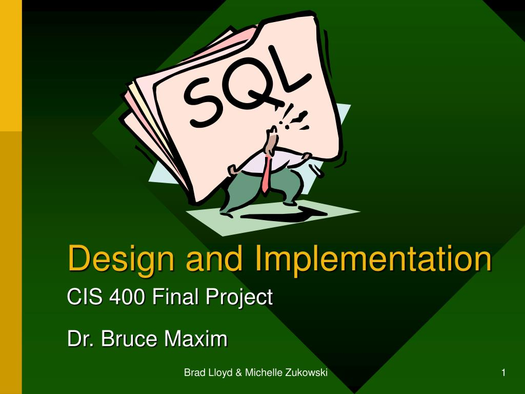 design and implementation l.