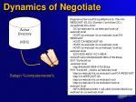 dynamics of negotiate16