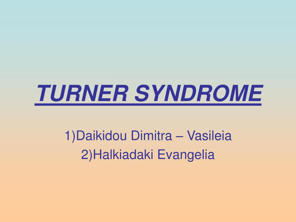 turner syndrome l.
