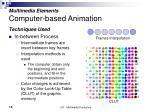 multimedia elements computer based animation15