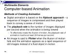 multimedia elements computer based animation16