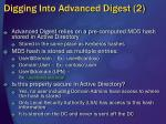 digging into advanced digest 2