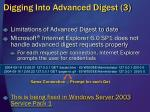 digging into advanced digest 3