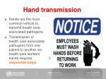 hand transmission