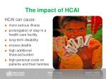 the impact of hcai10