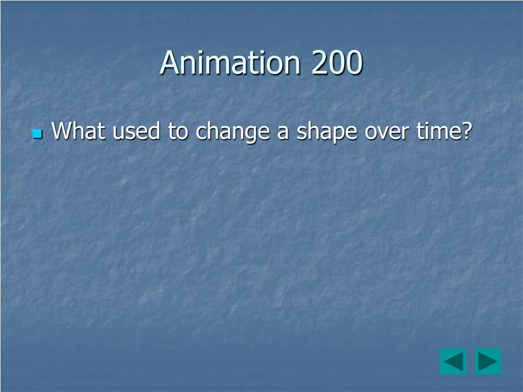 Animation 200