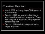 transition timeline25