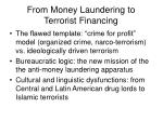 from money laundering to terrorist financing