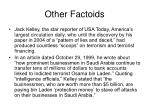 other factoids