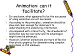 animation can it facilitate13