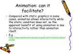 animation can it facilitate9