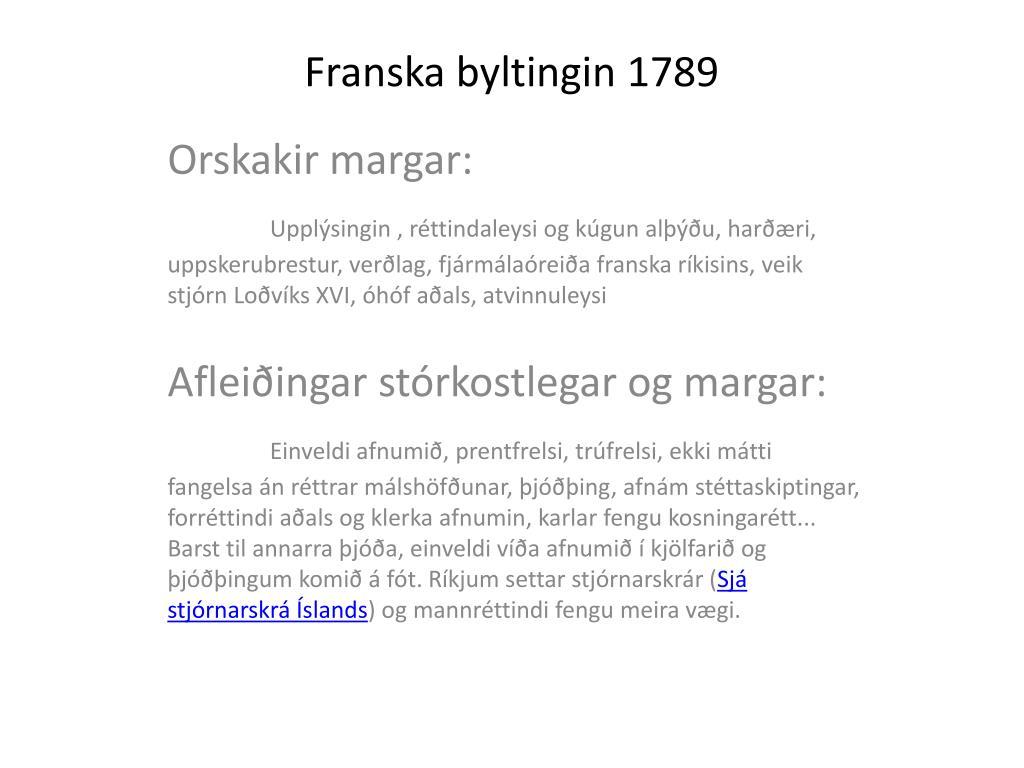 franska byltingin 1789 l.