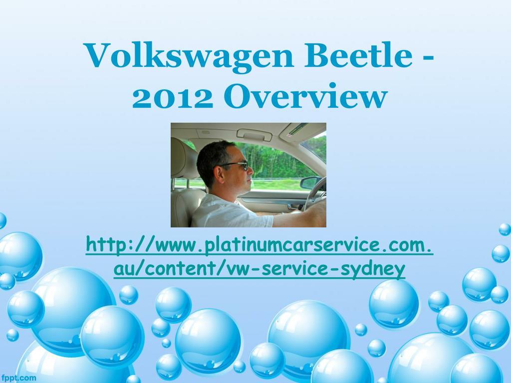 volkswagen beetle 2012 overview l.