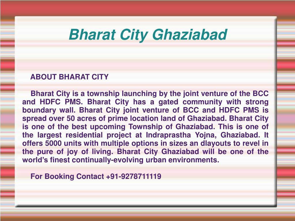 bharat city ghaziabad l.