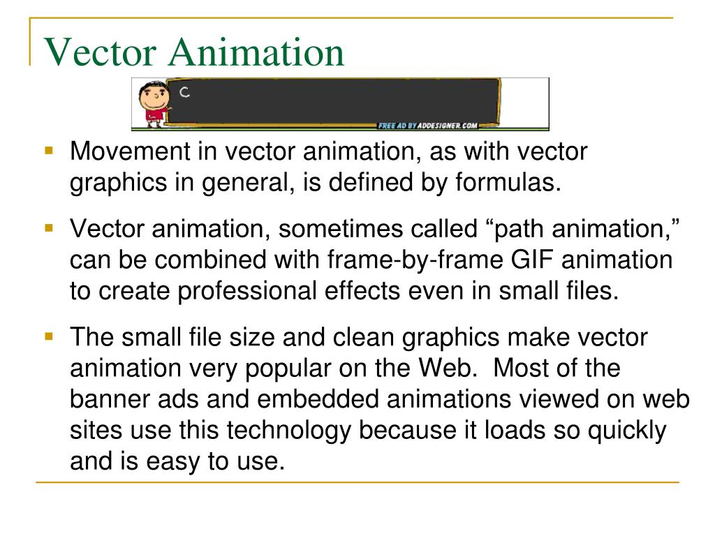 Vector Animation