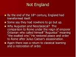 not england
