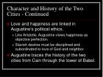 character and history of the two cities continued24
