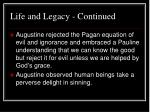life and legacy continued10