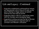 life and legacy continued11