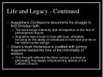 life and legacy continued4