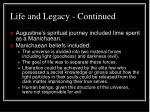 life and legacy continued6