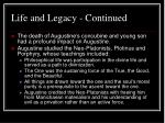 life and legacy continued8