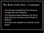 the role of the state continued38