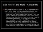 the role of the state continued39