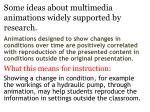 some ideas about multimedia animations widely supported by research5