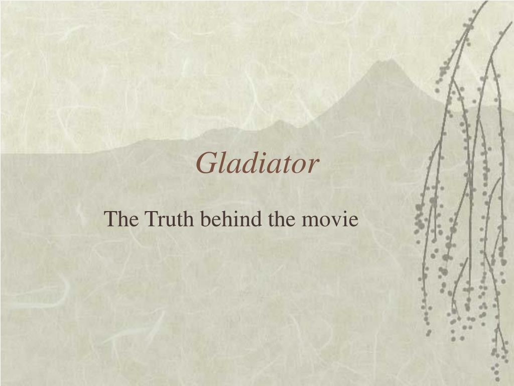 gladiator l.