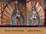 imagem transfigurada imagem original