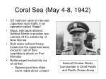 coral sea may 4 8 1942