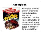 absorption