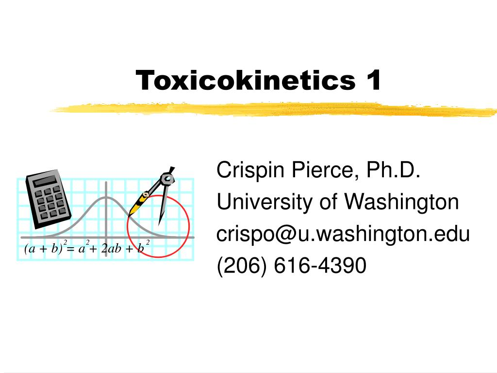 toxicokinetics 1 l.