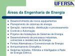 reas da engenharia de energia