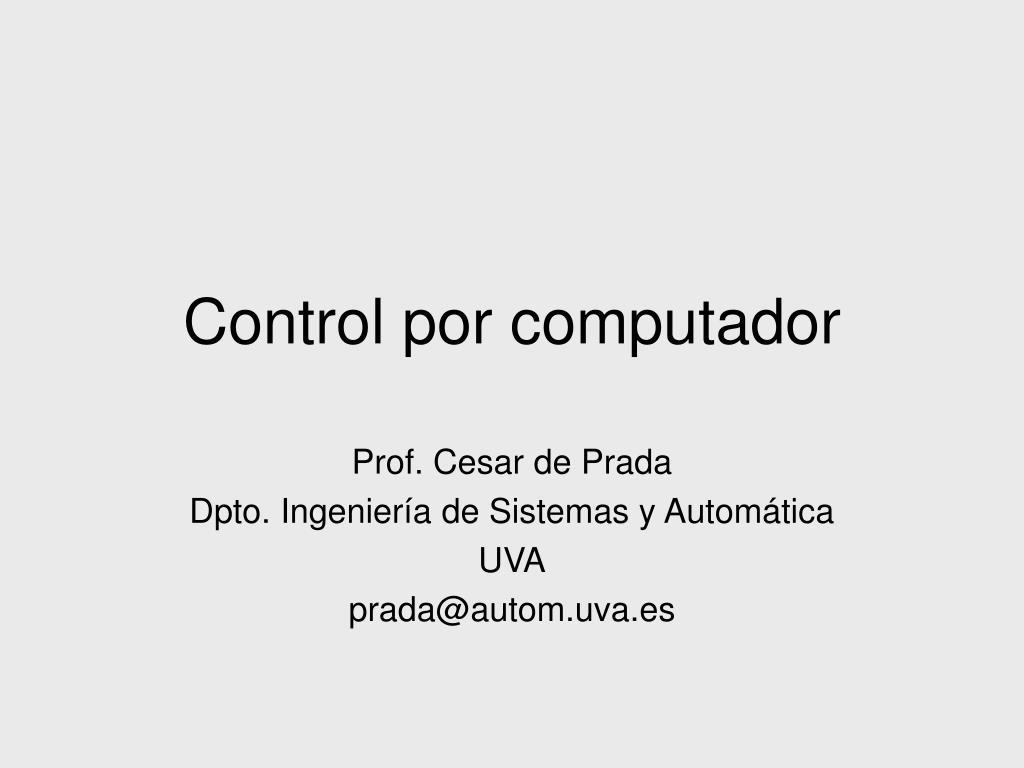 control por computador l.