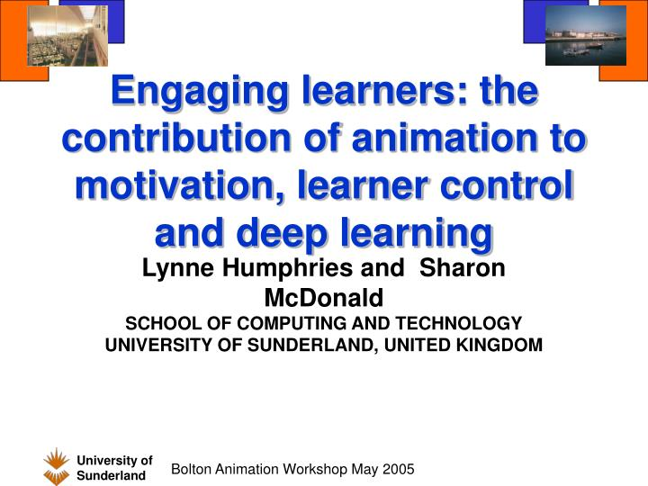 what contributes to motivation for learning Cedures of learning, (b) the assumptions made about the learning, (c) the task of the educa- tor, (d) the sources of motivation, and (e) the way in which the transfer of learning is facilitated.